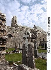 starożytny, celtyckie krzyże