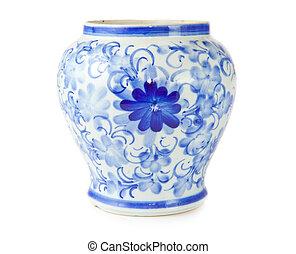 starożytny, chińczyk, wazon