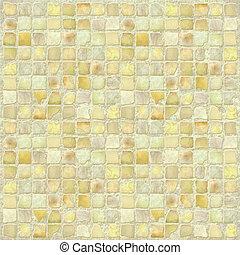 starożytny, dachówka, kamień, mozaika