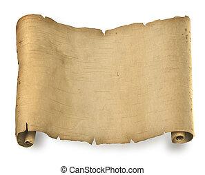 starożytny, dokument