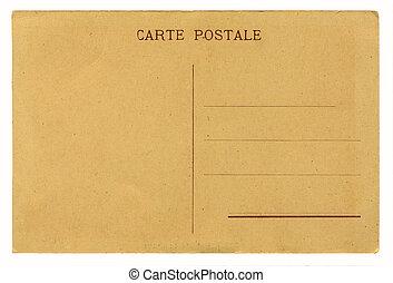 starożytny, kartka pocztowa