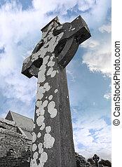 starożytny, krzyż