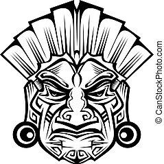 starożytny, maska