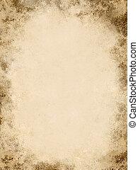 starożytny, papier