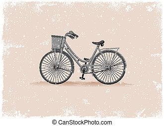 starożytny, rower