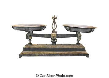 starożytny, tabela, żelazo