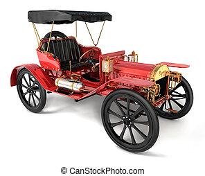 starożytny wóz, 1910