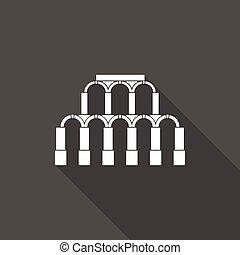 starobylý římský, architektura, ikona