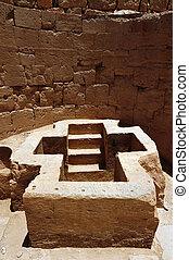 starobylý, beit, shean, izrael