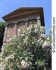 starobylý, chrám