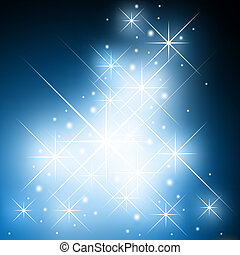 Starry background - Fantasy starry background - christmas...