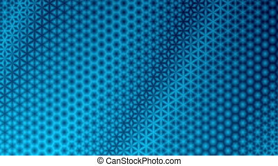 Starry Blue Pattern Background - Repeating blue starry...