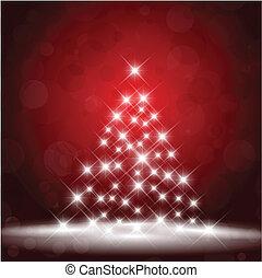 starry, kerstboom