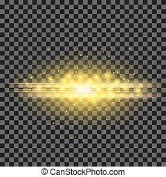 Starry Light Background