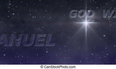 Starry Night - Emmanuel Loop HD - Names prophesied by Isaiah...