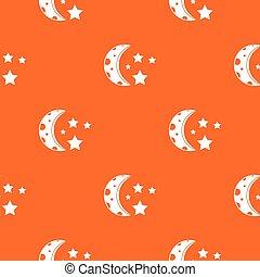 Starry night pattern seamless