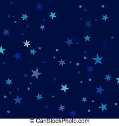 Starry Night pattern swatch