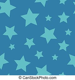 Starry Night - Seamless Background Pattern