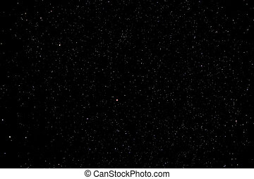 Starry Night Sky with daek black background