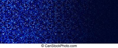 Starry night social media banner