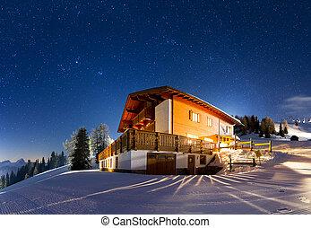 starry, panorama
