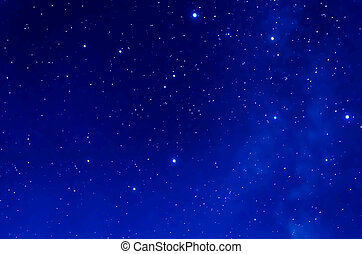 Starry Sky. Deep space and stars image.