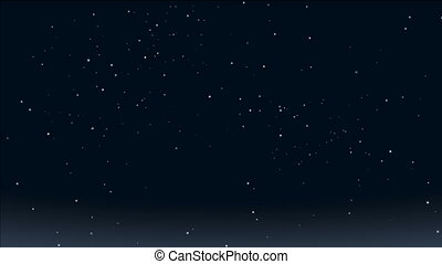 romantic stars - starry sky. romantic stars twinkle in the...