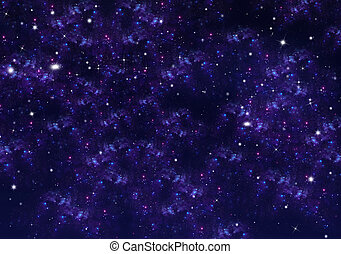 starry sky, space background