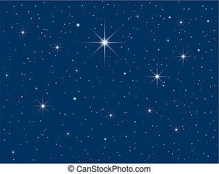 Starry sky - Starry night sky