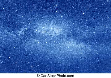 starry, sky.