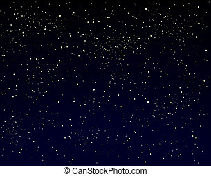 Starry sky - Illustration of a starry sky