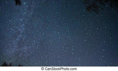 Starry sky. Ultra HD (4K)