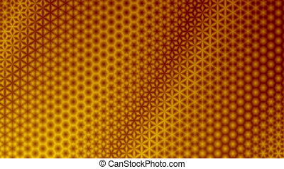 Starry Yellow and Red Pattern Background - Repeating red and...