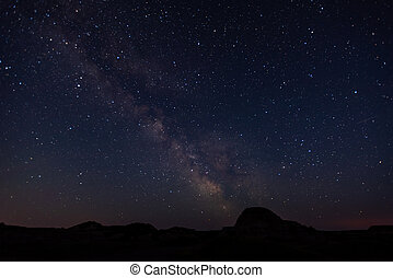 Stars Above Theodore Roosevelt National Park