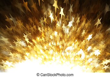 Stars abstract