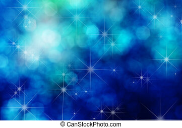Stars and Bokeh Background