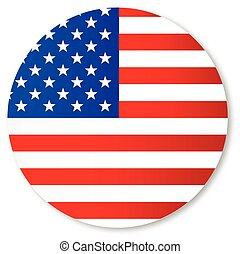Stars and Stripes Circle - The 'Stars and Stripes' flag...