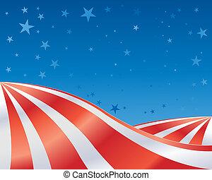 stars and stripes landscape