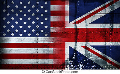 stars and stripes & union jack