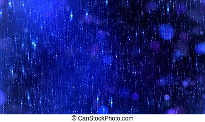 Stars background Blue