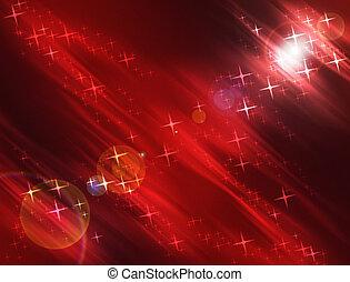 Stars Background - Cosmic Stars and Lights Luminescent...