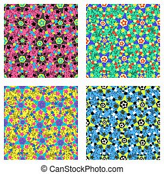 stars background collection vector illustration
