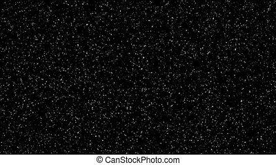 Stars background over black