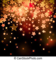 stars Christmas festive abstract