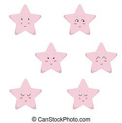 Stars Cute Seamless Pattern