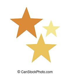 stars decoration christmas isolated icon