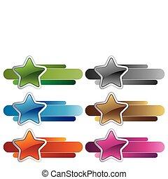 stars design element