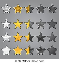 Stars for game interface