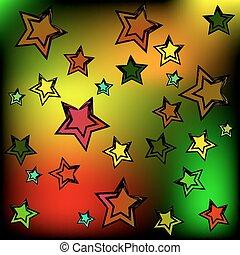 stars., fundo