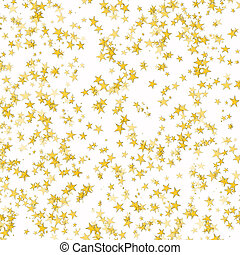 Stars - Gold background from bright stars